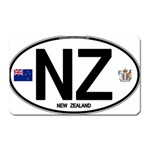 NZ - New Zealand Euro Oval Magnet (Rectangular)