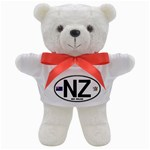 NZ - New Zealand Euro Oval Teddy Bear