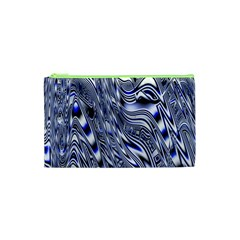Aliens Music Notes Background Wallpaper Cosmetic Bag (xs) by Nexatart
