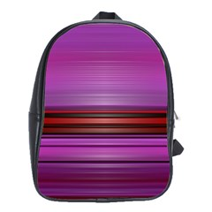 Stripes Line Red Purple School Bags(large)
