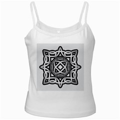 Celtic Draw Drawing Hand Draw Ladies Camisoles