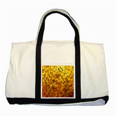 Gold Two Tone Tote Bag