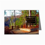 Turkey Path - East Rim ~Pa Grand Canyon - Ave Hurley - Mini Greeting Cards (Pkg of 8)