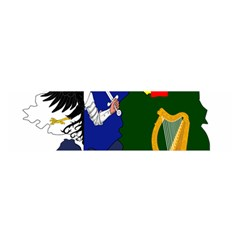 Flag Map Of Provinces Of Ireland Satin Scarf (oblong) by abbeyz71