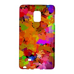 Colorful Shapes       Samsung Galaxy Note 4 Leather Folio by LalyLauraFLM