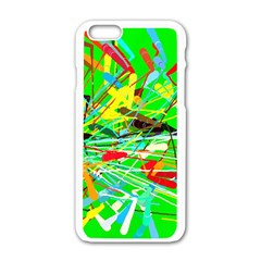 Colorful Painting On A Green Background        Motorola Moto E Hardshell Case by LalyLauraFLM