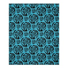 Turquoise Pattern Shower Curtain 60  X 72  (medium)  by linceazul