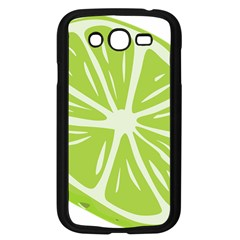 Gerald Lime Green Samsung Galaxy Grand Duos I9082 Case (black) by Mariart