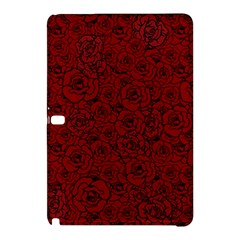 Red Roses Field Samsung Galaxy Tab Pro 10 1 Hardshell Case by designworld65