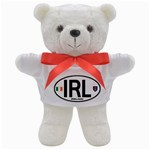 IRL - Ireland Euro Oval Teddy Bear