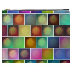 Multicolored Suns Cosmetic Bag (xxxl)  by linceazul
