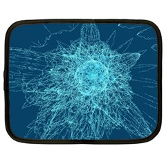 Shattered Glass Netbook Case (large) by linceazul