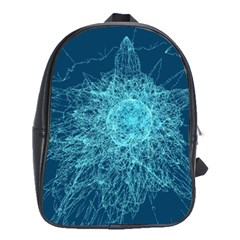 Shattered Glass School Bags(large)  by linceazul