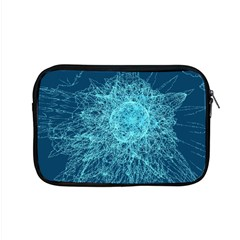 Shattered Glass Apple Macbook Pro 15  Zipper Case by linceazul