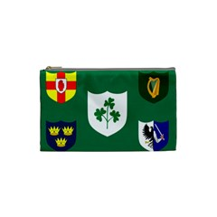 Ireland National Rugby Union Flag Cosmetic Bag (small)  by abbeyz71