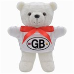 GB - Great Britain Euro Oval Teddy Bear