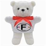 F - France Euro Oval Teddy Bear