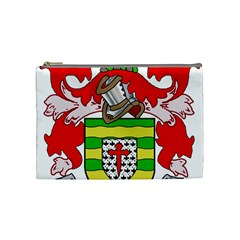 County Donegal Coat Of Arms Cosmetic Bag (medium)  by abbeyz71