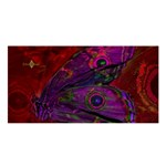 Collection: Metamorpha<br>Print Designs: Gypsy Moth - Violetta / Rosa<br>Style: Satin Shawl
