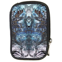 Angel Wings Blue Grunge Texture Compact Camera Cases by CrypticFragmentsDesign