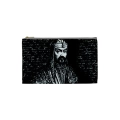Attila The Hun Cosmetic Bag (small)  by Valentinaart