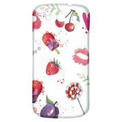 Hand Painted Summer Background  Samsung Galaxy S3 S Iii Classic Hardshell Back Case by TastefulDesigns