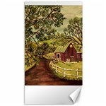 Old Red Barn By Ave Hurley - Canvas 40  x 72