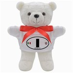 I - Italy Euro Oval Teddy Bear