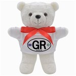 GR - Greece Euro Oval Teddy Bear