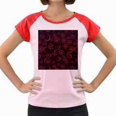 Pattern Women s Cap Sleeve T-shirt by ValentinaDesign