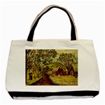 Old Red Barn By Ave Hurley - Basic Tote Bag (Two Sides)