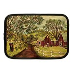 Old Red Barn By Ave Hurley - Netbook Case (Medium)