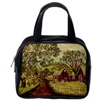 Old Red Barn By Ave Hurley - Classic Handbag (One Side)