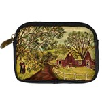 Old Red Barn By Ave Hurley - Digital Camera Leather Case
