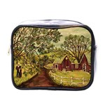 Old Red Barn By Ave Hurley - Mini Toiletries Bag (One Side)