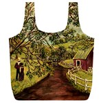Old Red Barn By Ave Hurley - Full Print Recycle Bag (XL)
