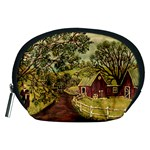 Old Red Barn By Ave Hurley - Accessory Pouch (Medium)