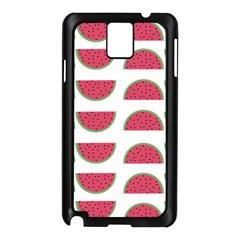Watermelon Pattern Samsung Galaxy Note 3 N9005 Case (black) by Nexatart