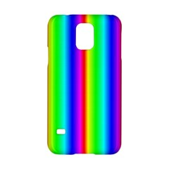 Rainbow Gradient Samsung Galaxy S5 Hardshell Case  by Nexatart