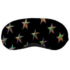 Colorful Gold Star Christmas Sleeping Masks