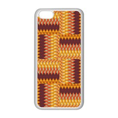 Geometric Pattern Apple Iphone 5c Seamless Case (white) by linceazul