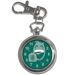 Laughs Funny Photo Contest Smile Face Mask Key Chain Watches by Mariart