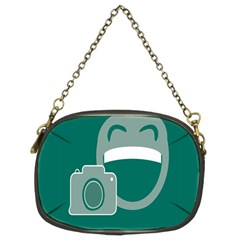 Laughs Funny Photo Contest Smile Face Mask Chain Purses (two Sides)  by Mariart