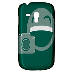 Laughs Funny Photo Contest Smile Face Mask Galaxy S3 Mini by Mariart
