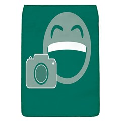 Laughs Funny Photo Contest Smile Face Mask Flap Covers (s)  by Mariart