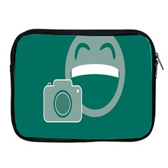 Laughs Funny Photo Contest Smile Face Mask Apple Ipad 2/3/4 Zipper Cases by Mariart