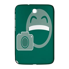 Laughs Funny Photo Contest Smile Face Mask Samsung Galaxy Note 8 0 N5100 Hardshell Case  by Mariart