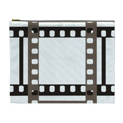 Frame Decorative Movie Cinema Cosmetic Bag (xl) by Nexatart