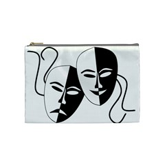 Theatermasken Masks Theater Happy Cosmetic Bag (medium)
