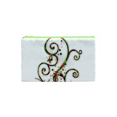 Scroll Magic Fantasy Design Cosmetic Bag (xs) by Nexatart